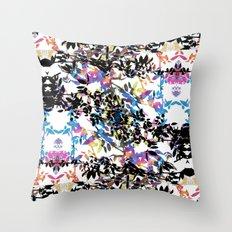 Rose Vine Ecstasy Throw Pillow