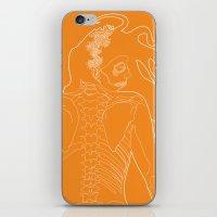 Catrina 1 iPhone & iPod Skin