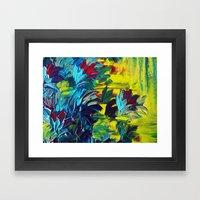 FLORA - Gorgeous Lemon L… Framed Art Print