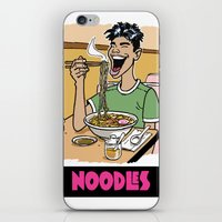 Noodles iPhone & iPod Skin