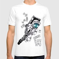 SLR Mens Fitted Tee White SMALL