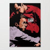 Hello I'm Bob/ fight club/ tyler durden Canvas Print