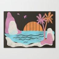 The Trops Canvas Print