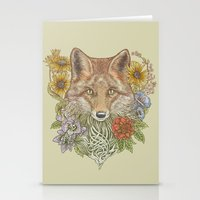 Fox Garden Stationery Cards