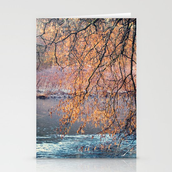 by the River Stationery Card