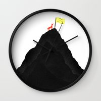 Man & Nature - To The To… Wall Clock