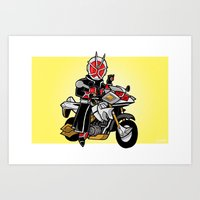 WizardBike Mini-Print Art Print