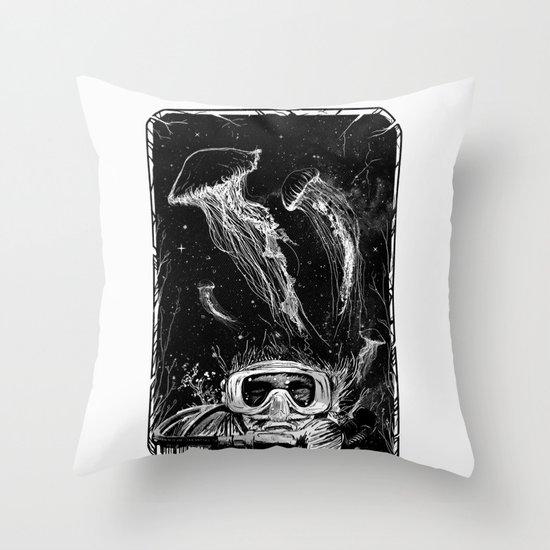 Underwater Vision Throw Pillow
