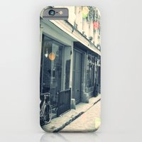 Bicycle and cobblestone iPhone 6 Slim Case
