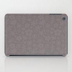 Mocha Doodles iPad Case