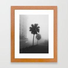 Whispering Fog Framed Art Print