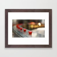 Focal Train. Framed Art Print