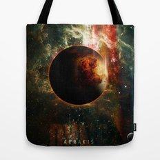 DUNE Planet Arrakis Poster Tote Bag