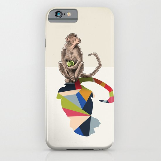 Walking Shadow, Monkey iPhone & iPod Case