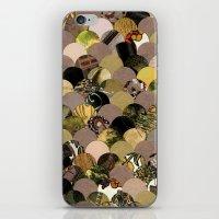 Autumn Scalloped Pattern iPhone & iPod Skin