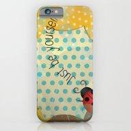 Ladybug / Just Be Yourse… iPhone 6 Slim Case