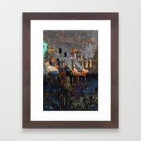 TEASEL III Framed Art Print