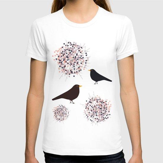 Hawthorn & Blackbird T-shirt