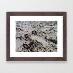 Galveston's Sand Framed Art Print