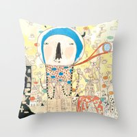 """""""My Life Is My Message… Throw Pillow"""
