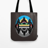 Bear Camp Tote Bag