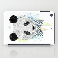 Hello Panda iPad Case