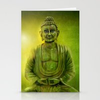 Happy Buddha 1 Stationery Cards