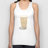 Yeast is a Fungi - Beer Pint Unisex Tank Top