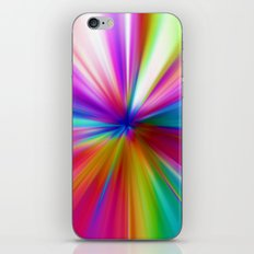 Rainbow Zoom iPhone & iPod Skin