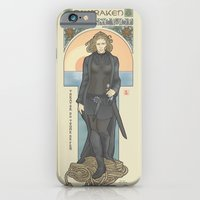 iPhone & iPod Case featuring The Kraken's Daughter by ElinJ