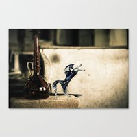 Horse of Glass, Italy Canvas Print