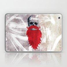 Beard Skull Laptop & iPad Skin