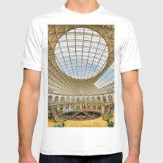 The Corn Exchange Interior Mens Fitted Tee SMALL White