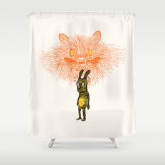 Scared Stiff Shower Curtain