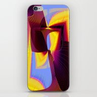 iPhone & iPod Skin featuring Covert Symetry by David  Gough