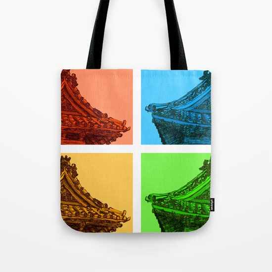 a few reflections on an elegant curve Tote Bag