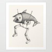 'Evolution I' Art Print