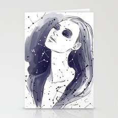 constellation of tears Stationery Cards
