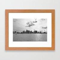 Boston Framed Art Print