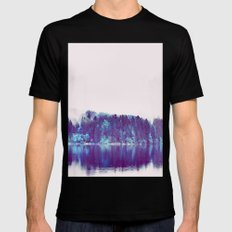 Soft Rendevouz #society6 Mens Fitted Tee Black SMALL