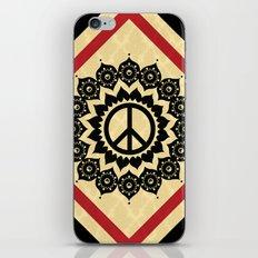 Peace Mandala iPhone & iPod Skin