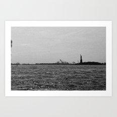 Liberty. Art Print