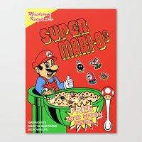 Super Mari-Os Canvas Print