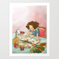 Foodie Art Print