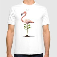 Planted Mens Fitted Tee White SMALL