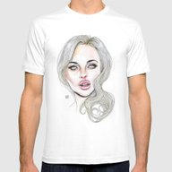 Lindsay By Lucas David 2… Mens Fitted Tee White SMALL