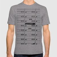 Mailbox Lotto Mens Fitted Tee Athletic Grey SMALL