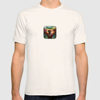 Boba Fett Mens Fitted Tee Natural SMALL
