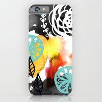 Watercolor Garden iPhone 6 Slim Case