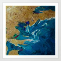 Lakeshore Limited Art Print